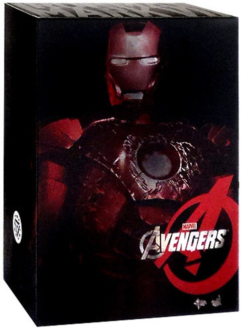 Marvel Avengers Battle Damaged Iron Man Mark VII Collectible Figure