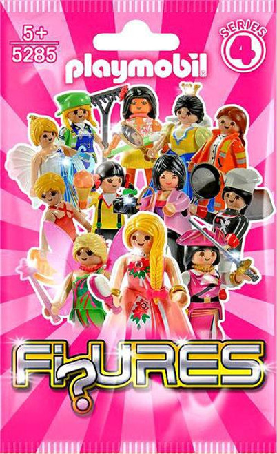 Playmobil Figures Series 4 Pink Mystery Pack