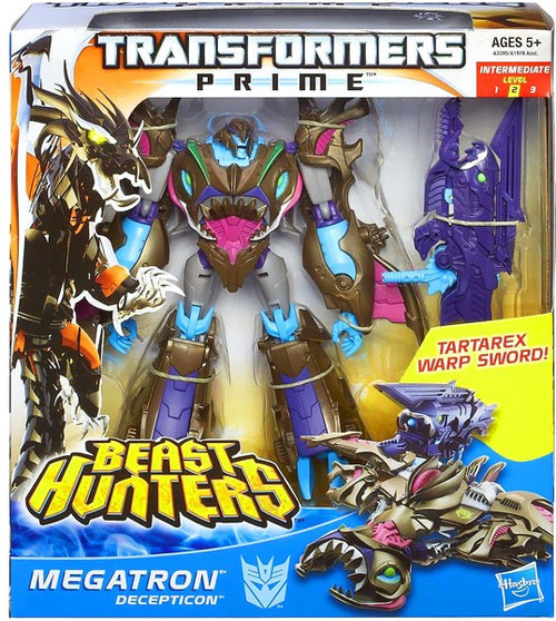 Transformers Prime Beast Hunters Sharkticon Megatron Voyager Action Figure