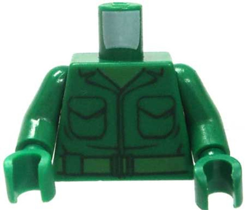 LEGO Toy Story Green Male Torso in Army Fatigues with Pockets Loose Torso [Loose]