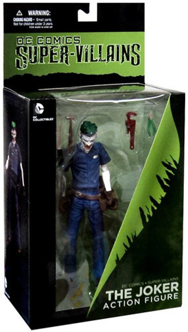 DC Super Villains The New 52 The Joker Action Figure