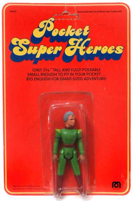 Superman Vintage Pocket Super Heroes Jor-El Action Figure