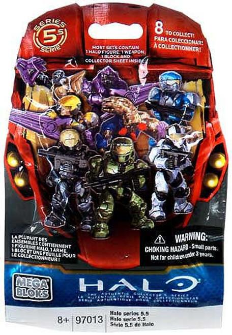 Mega Bloks Halo Series 5.5 Minifigure Mystery Pack [1 RANDOM Figure]