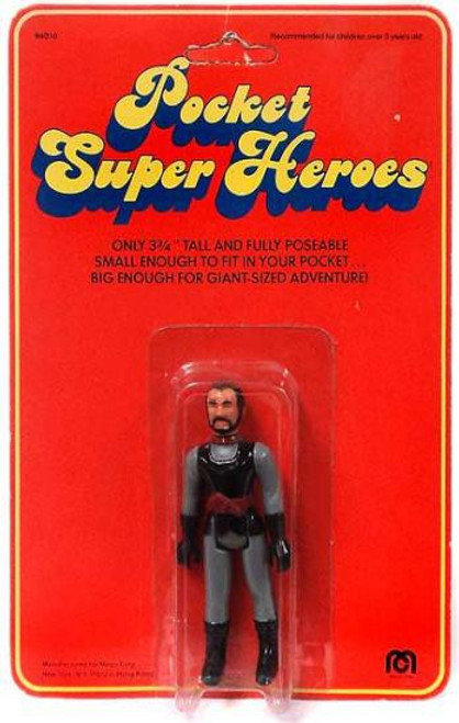 Superman Vintage Pocket Super Heroes General Zod Action Figure