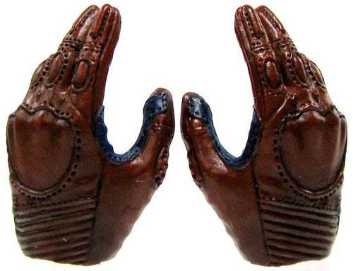 Marvel Avengers Movie Masterpiece Pair of Red & Blue Relaxed Hands [Loose]