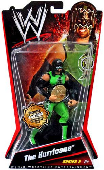 WWE Wrestling Series 5 The Hurricane Action Figure [With Belt]