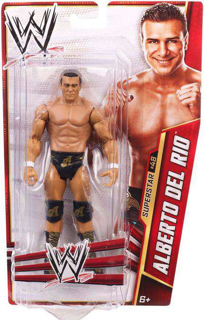 WWE Wrestling Series 31 Alberto Del Rio Action Figure #48