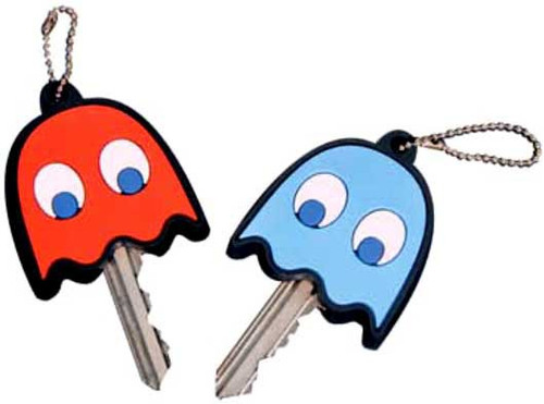 Pac Man Namco Ghost Key Covers