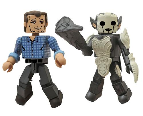 Thor The Dark World Minimates Series 53 Selvig & Dark Elf Minifigure 2-Pack