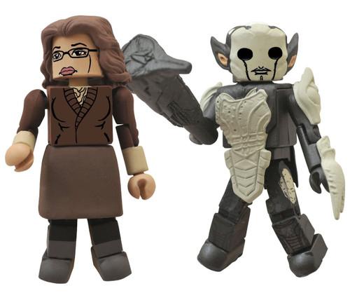 Thor The Dark World Minimates Series 53 Darcy & Dark Elf Minifigure 2-Pack