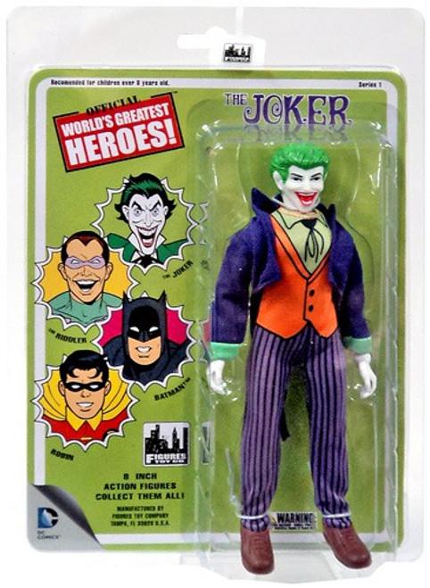 Batman World's Greatest Heroes Series 1 The Joker Action Figure