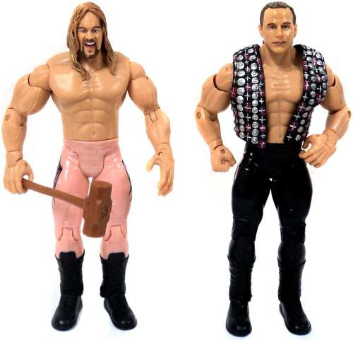 WWE Wrestling Adrenaline Series 3 Shawn Michaels & Chris Jericho Action Figure [Loose]