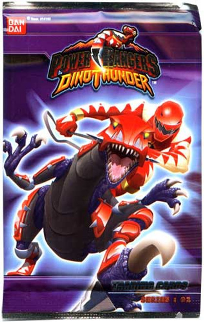 Power Rangers Dino Thunder Series 2 Trading Card Pack [7 Cards]