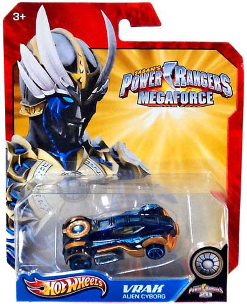Power Rangers Megaforce Hot Wheels Vrak Alien Cyborg Diecast Car