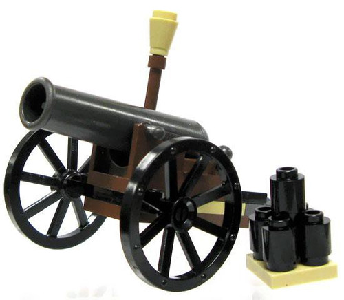 LEGO The Lone Ranger 12 Pound Field Cannon Loose Weapon [Loose]