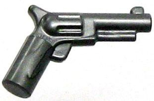 LEGO Silver Colt Revolver Pistol 'Six Shooter' Loose Weapon [Loose]