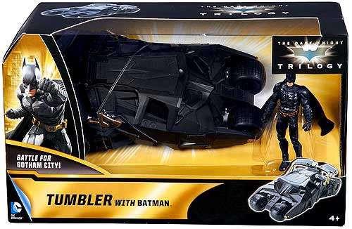 The Dark Knight Rises Battle for Gotham City Tumbler wtih Batman Exclusive Action Figure Vehicle