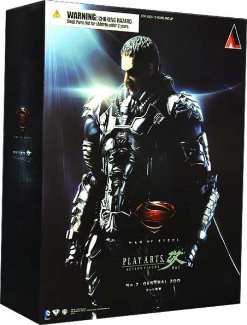 Superman Man of Steel Play Arts Kai General Zod Action Figure