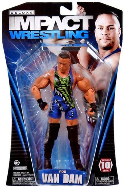 TNA Wrestling Deluxe Impact Series 10 Rob Van Dam Action Figure