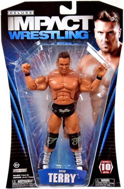 TNA Wrestling Deluxe Impact Series 10 Rob Terry Action Figure