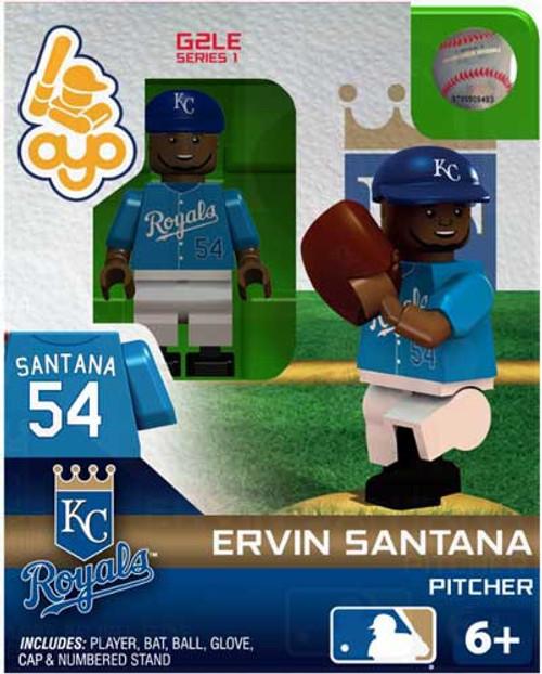 Kansas City Royals MLB Generation 2 Series 1 Ervin Santana Minifigure