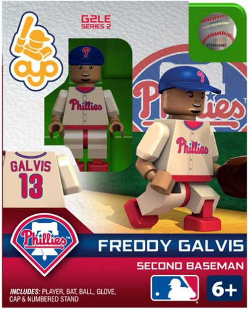Philadelphia Phillies MLB Generation 2 Series 2 Freddy Galvis Minifigure