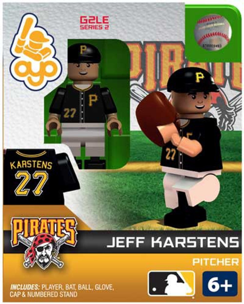 Pittsburgh Pirates MLB Generation 2 Series 2 Jeff Karstens Minifigure