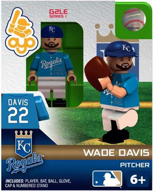 Kansas City Royals MLB Generation 2 Series 1 Wade Davis Minifigure