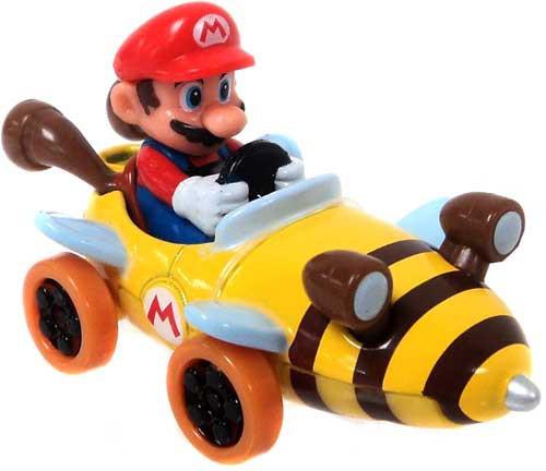 Super Mario Mario Kart Ertl Mario Diecast Vehicle [Bee Kart]