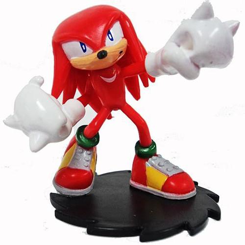 Sonic The Hedgehog Knuckles 2-Inch PVC Figure [Modern Loose]