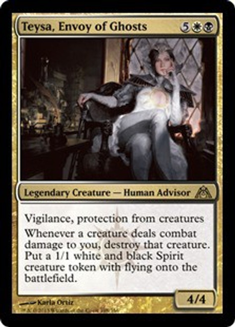 MtG Dragon's Maze Rare Teysa, Envoy of Ghosts #108