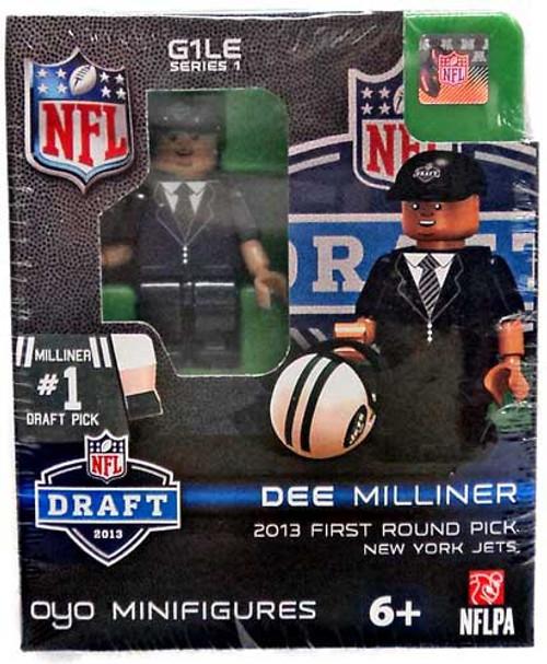 New York Jets NFL 2013 Draft First Round Picks Dee Milliner Minifigure
