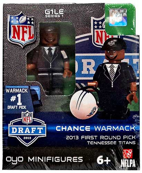 Tennessee Titans NFL 2013 Draft First Round Picks Chance Warmack Minifigure