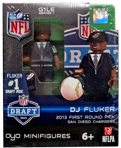 San Diego Chargers NFL 2013 Draft First Round Picks DJ Fluker Minifigure