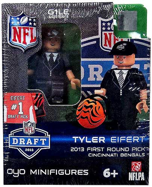 Cincinnati Bengals NFL 2013 Draft First Round Picks Tyler Eifert Minifigure