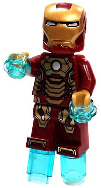 LEGO Marvel Super Heroes Iron-Man Minifigure [Mark 42 Armor Loose]