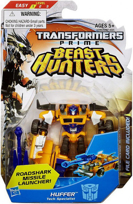 Transformers Prime Beast Hunters Huffer Commander Action Figure