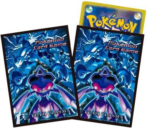 Pokemon Black & White Team Plasma Genesect Standard Card Sleeves [32 Count]