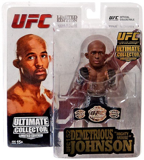 UFC Ultimate Collector Series 13.5 Demetrious Johnson Action Figure [Limited Championship Edition]