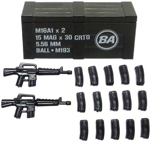 BrickArms M16A1 Crate 2.5-Inch