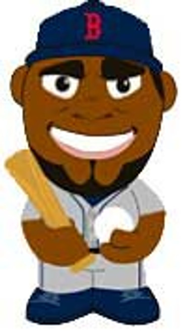 MLB Boston Red Sox Big League Minis Dave Ortiz Vinyl Mini Figure [Loose]