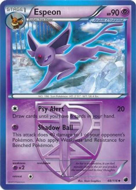 Pokemon Black & White Plasma Freeze Uncommon Espeon #48