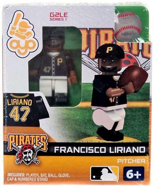 Pittsburgh Pirates MLB Generation 2 Series 1 Francisco Liriano Minifigure