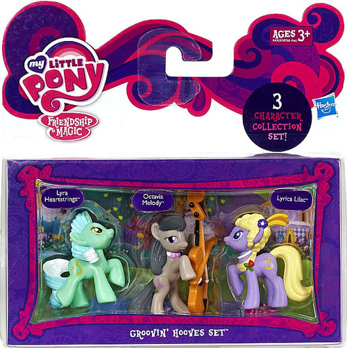 My Little Pony Friendship is Magic Character Collection Sets Groovin' Hooves Figure Set