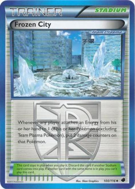 Pokemon Black & White Plasma Freeze Uncommon Frozen City #100