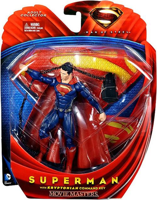 Man of Steel Movie Masters Superman Action Figure [Kryptonian Command Key]