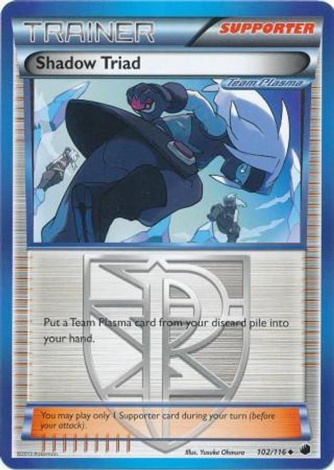 Pokemon Black & White Plasma Freeze Uncommon Shadow Triad #102