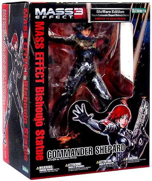 Mass Effect 3 Bishoujo Commander Shepard Statue [Black Hair]
