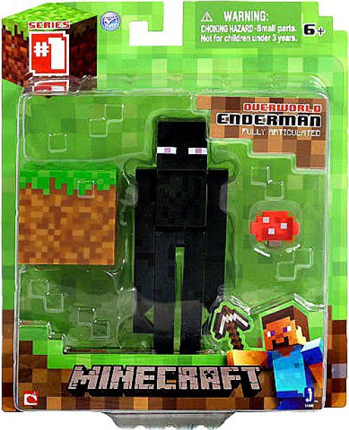 Minecraft Series 1 Enderman Action Figure [Overworld]