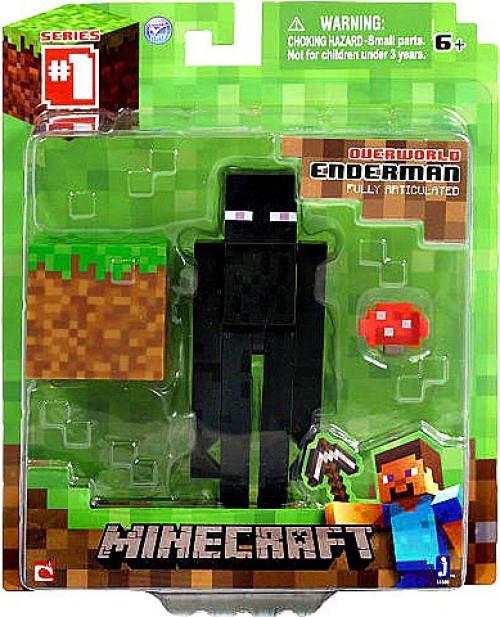 Minecraft Series 1 Enderman Action Figure [Overworld]